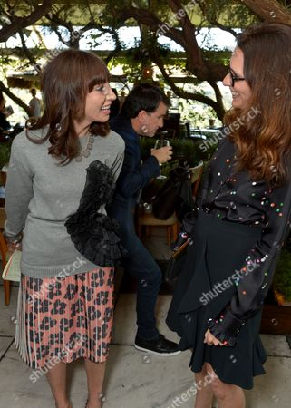 Merle Ginsberg, left and Elizabeth Stewart attend The Hollywood Reporter & Jimmy Choo Celebration of the Most Powerful Stylists in Hollywood,, in West Hollywood, Calif