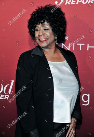 Merry Clayton arrives at The Hollywood Reporter Toasts the 2014 Oscar Nominees on Monday Feb, 10, 2014 in Beverly Hills, Calif