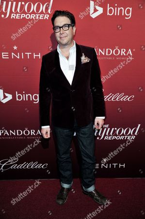 Eric Warren Singer arrives at The Hollywood Reporter Toasts the 2014 Oscar Nominees on Monday Feb, 10, 2014 in Beverly Hills, Calif