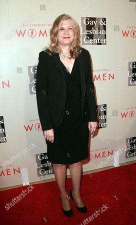 Mona Golabek arrives at The L.A. Gay and Lesbian Center's Annual 'An Evening With Women' at The Beverly Hilton, in Beverly Hills