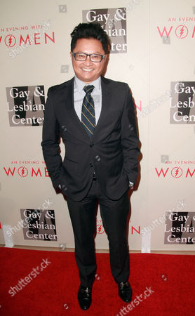 Alec Mapa arrives at The L.A. Gay and Lesbian Center's Annual 'An Evening With Women' at The Beverly Hilton, in Beverly Hills