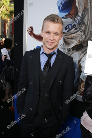 """Jesse Luken at The Los Angeles Premiere of Warner Bros. Pictures' and Legendary Pictures' """"42"""", on Tuesday, April, 9th, 2013 in Los Angeles"""