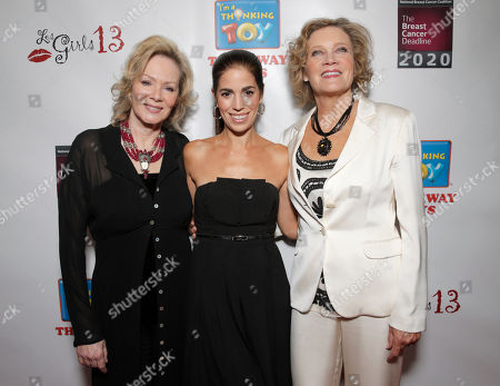 Jean Smart, Ana Ortiz and Deborah May attend the National Breast Cancer Coalition Fund's 13th Annual Les Girls on in Hollywood, Calif