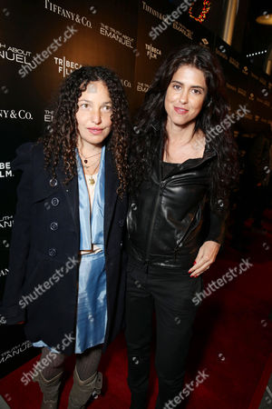Tatiana von Furstenberg and Francesca Gregorini seen at the TIFFANY & CO. Los Angeles red carpet event for Tribeca Film and Well Go USA's release of THE TRUTH ABOUT EMANUEL, on in Los Angeles