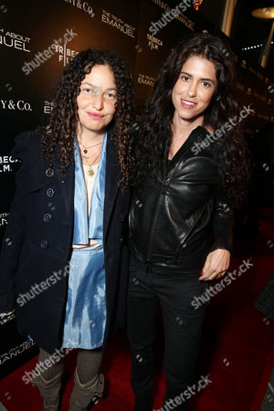 Stock Photo of Tatiana von Furstenberg and Francesca Gregorini seen at the TIFFANY & CO. Los Angeles red carpet event for Tribeca Film and Well Go USA's release of THE TRUTH ABOUT EMANUEL, on in Los Angeles