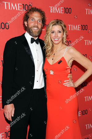 """Spanx founder Sara Blakely and husband Jesse Jaymes attend the TIME 100 Gala celebrating the """"100 Most Influential People in the World"""" at Jazz at Lincoln Center on in New York"""