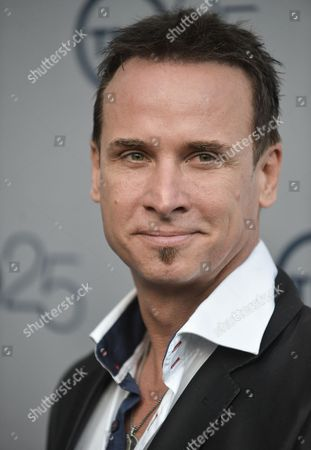 Colin Cunningham arrives at the TNT 25th Anniversary Party at The Beverly Hilton Hotel on in Los Angeles
