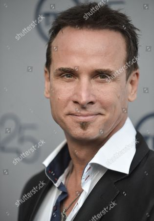 Stock Image of Colin Cunningham arrives at the TNT 25th Anniversary Party at The Beverly Hilton Hotel on in Los Angeles