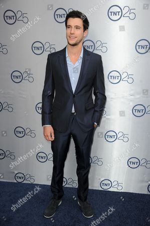 Drew Roy arrives at the TNT 25th Anniversary Party at The Beverly Hilton Hotel on in Los Angeles