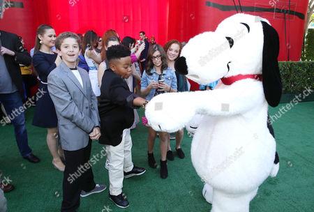 Editorial picture of Twentieth Century Fox Premiere of 'The Peanuts Movie', Los Angeles, USA