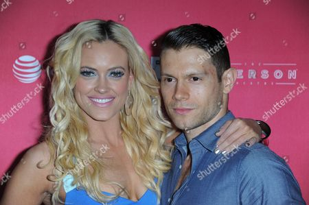 """Petra Murgatroyd, left, and Henry Byalikov arrive at US Weekly's """"Hot Hollywood Style"""" Issue Event at The Emerson Theatre on in Los Angeles"""