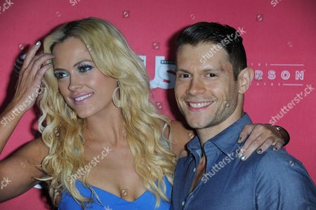 """Stock Photo of Petra Murgatroyd, left, and Henry Byalikov arrive at US Weekly's """"Hot Hollywood Style"""" Issue Event at The Emerson Theatre on in Los Angeles"""