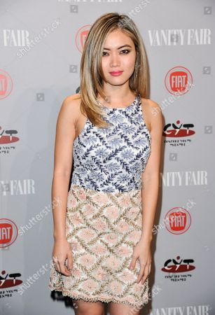 Jessica Lu arrives at Vanity Fair's Fiat Young Hollywood Party on Tuesday, Feb, 25, 2014 in Los Angeles