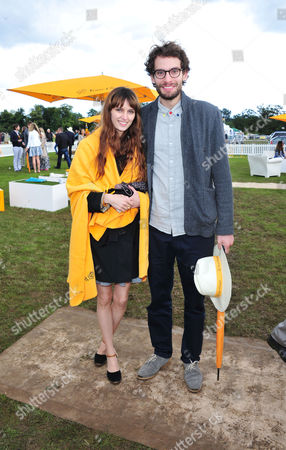 Harry Gilliam poses at the Veuve Clicquot Gold Cup Polo at Cowdrey Park on in Midhurst