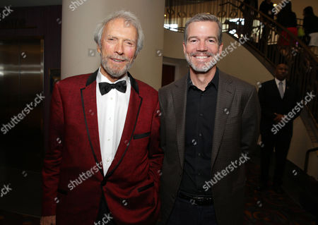 Director/Producer Clint Eastwood and Producer Robert Lorenz seen at the Warner Bros. Premiere of 'Jersey Boys' at the 2014 Los Angeles Film Festival held at Regal Cinemas LA Live Stadium 14, in Los Angeles