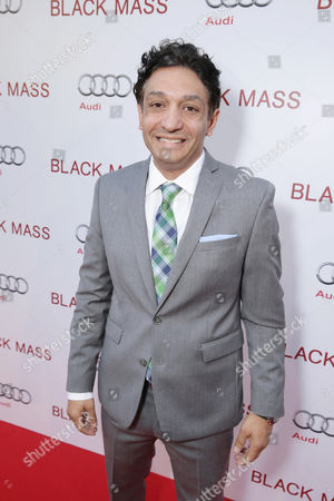 Stock Photo of Screenwriter Mark Mallouk seen at Warner Bros. 'Black Mass' Premiere at 2015 Toronto International Film Festival, in Toronto, CAN