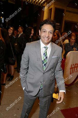Stock Picture of Screenwriter Mark Mallouk seen at Warner Bros. 'Black Mass' Premiere at 2015 Toronto International Film Festival, in Toronto, CAN