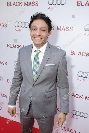 Screenwriter Mark Mallouk seen at Warner Bros. 'Black Mass' Premiere at 2015 Toronto International Film Festival, in Toronto, CAN