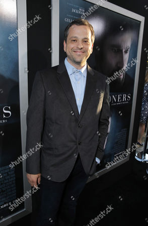 Writer Aaron Guzikowski seen at Warner Bros. Premiere of 'Prisoners', on Thursday, Sep, 12, 2013 in Beverly Hills, Calif
