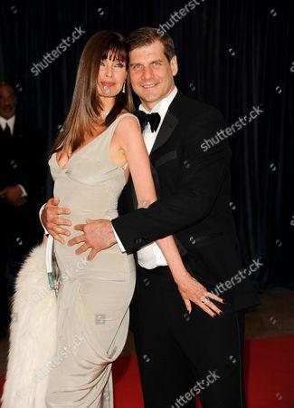 Carol Alt and Alexei Yashin attend the White House Correspondents' Dinner at the Washington Hilton on in Washington