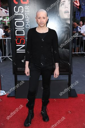 """Joseph Bishara arrives at the world premiere of """"Insidious: Chapter 2"""" at Universal CityWalk on in Universal City, Calif"""