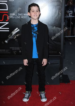 """Andrew Astor arrives at the world premiere of """"Insidious: Chapter 2"""" at Universal CityWalk on in Universal City, Calif"""