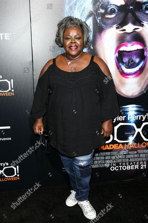 """Cassi Davis attends the world premiere of """"BOO! A Madea Halloween"""" held at ArcLight Cinerama Dome, in Los Angeles"""