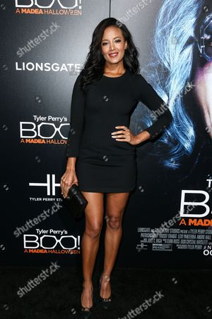 """Heather Hemmens attends the world premiere of """"BOO! A Madea Halloween"""" held at ArcLight Cinerama Dome, in Los Angeles"""