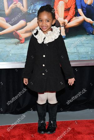 """Stock Photo of Actress Zani Jones Mbayise attends the world premiere of """"How To Be Single"""" at the NYU Skirball Center of Performing Arts, in New York"""