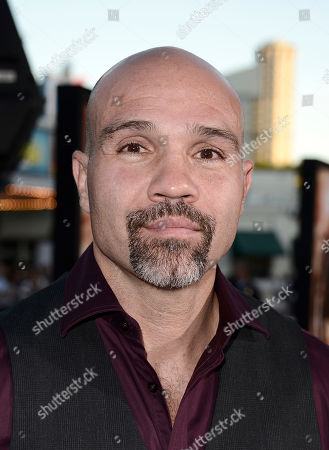 """Conrad Pla arrives on the red carpet at the world premiere of the feature film """"Riddick"""" at the Regency Village Theatre on in Los Angeles"""