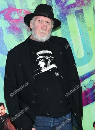 "Frank Miller attends the world premiere of ""Suicide Squad"" at the Beacon Theatre, in New York"