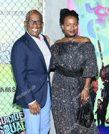 """Stock Picture of Al Roker and daughter Leila Roker attend the world premiere of """"Suicide Squad"""" at the Beacon Theatre, in New York"""