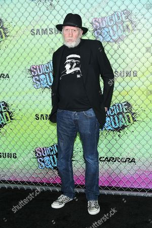 "Comic book writer Frank Miller attends the world premiere of ""Suicide Squad"" at the Beacon Theatre, in New York"