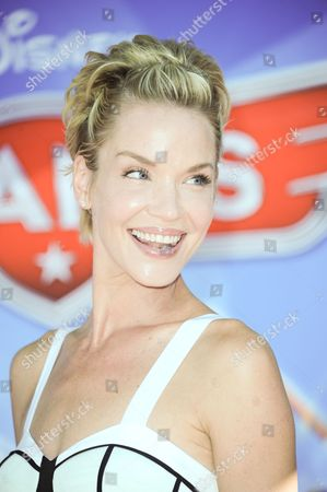 """Ashley Scott arrives at the world premiere of """"Disney's Planes"""" at the El Capitan Theatre on in Los Angeles"""