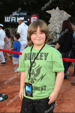 JUNE 21: Conner Rayburn at the World Premiere of Disney-Pixar's 'WALL-E' on at the Greek Theatre in Los Angeles, CA
