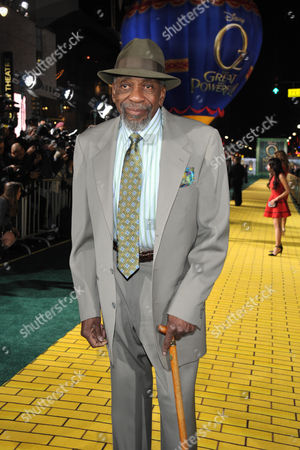 """Stock Image of Bill Cobbs arrives at the world premiere of """"Oz The Great and Powerful"""" at the El Capitan Theatre on in Los Angeles"""