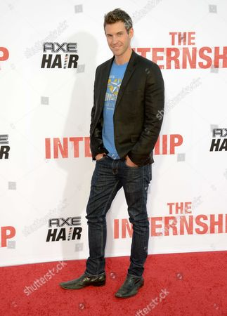 """Stock Picture of Zane Stephens arrives at the World Premiere of """"The Internship"""" at the Regency Village Westwood on in Los Angeles"""