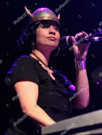 Stock Photo of Musician Scheila Gonzalez performs with Zappa Plays Zappa at Rams Head Live, in Baltimore