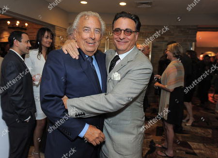 "Frank Mancuso and Andy Garcia attend the ""Backstage At The Geffen"" Fundraiser on in Los Angeles"
