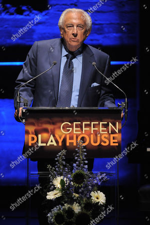 "Frank Mancuso speaks at the ""Backstage At The Geffen"" Fundraiser on in Los Angeles"