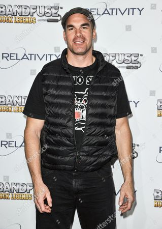 "Brandon Molale arrives at the ""Bandfuse: Rock Legends"" video game launch at the House of Blues on in Los Angeles"