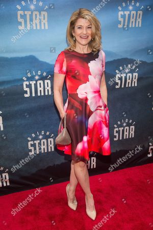 "Victoria Clark attends the Broadway opening night of ""Bright Star"" at the Cort Theatre, in New York"