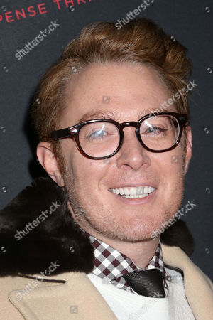 """Clay Aiken attends the opening night of """"Misery"""" on Broadway at the Broadhurst Theatre, in New York"""