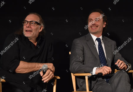 "Gregory Nicotero and Andrew Lincoln are seen at ""The Walking Dead"" ATAS FYC event at the Egyptian Theater on in Los Angeles"