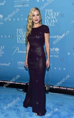 Sterling McDavid attends the 12th Annual UNICEF Snowflake Ball at Cipriani Wall Street, in New York