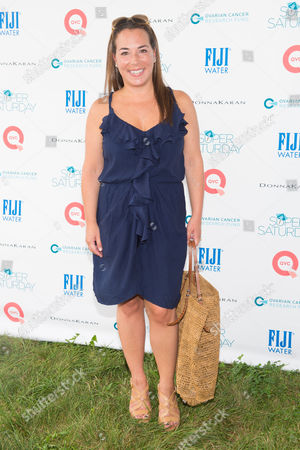 Samantha Yanks attends the 17th Annual Super Saturday Ovarian Cancer Research Fund Benefit, presented by QVC, at Nova's Ark Project in Water Mill, in New York