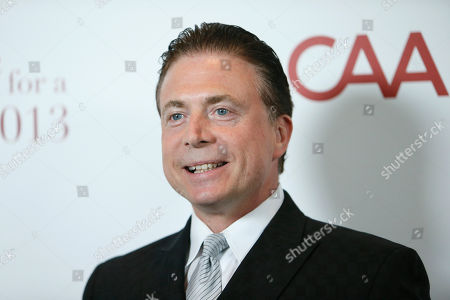 "Radio news anchor Frank Mottek poses at the UCLA's Jonsson Cancer Center Foundation 18th Annual ""Taste for a Cure"" event at The Beverly Wilshire Hotel on in Los Angeles"