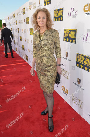 Farley Ziegler arrives at the 19th annual Critics' Choice Movie Awards at the Barker Hangar, in Santa Monica, Calif