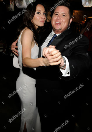 LOS ANGELES, CA - SEPTEMBER 10: (L-R) Jennifer Elia and Chaz Bono attends the 2011 Academy of Television Arts & Sciences Primetime Creative Arts Emmy Awards Governors Ball at the Los Angeles Convention Center on in Los Angeles, California