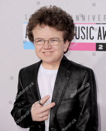 Stock Picture of Keenan Cahill arrives at the 40th Anniversary American Music Awards, in Los Angeles